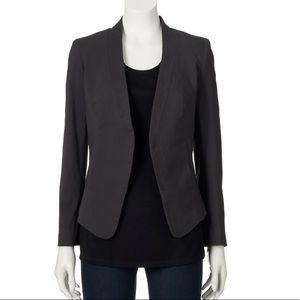 Worn once - Apt 9 open front blazer - size 8